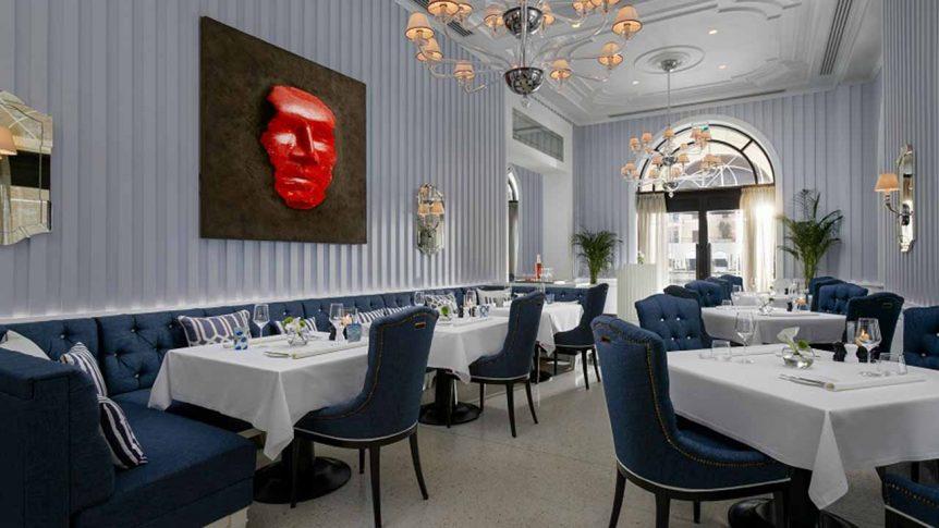 Murano Restaurant enterijer