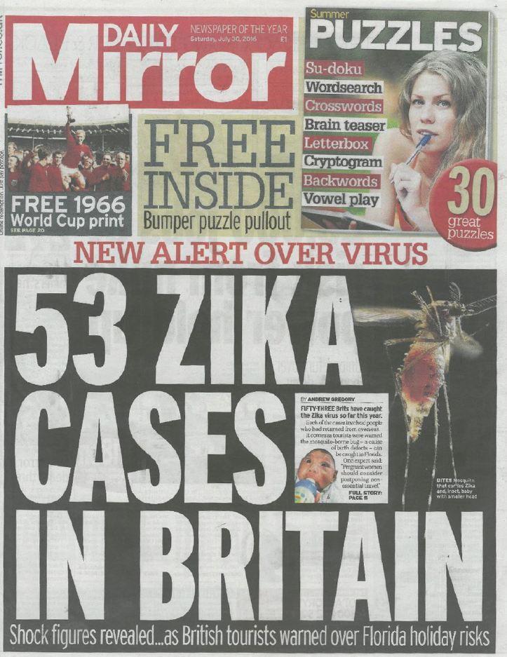 Daily Mirror magazin