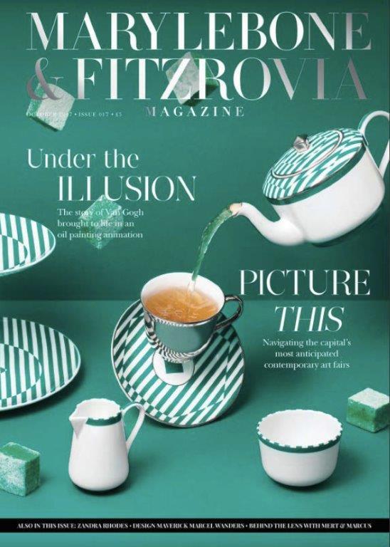 Marylebone Fitzrovia magazin