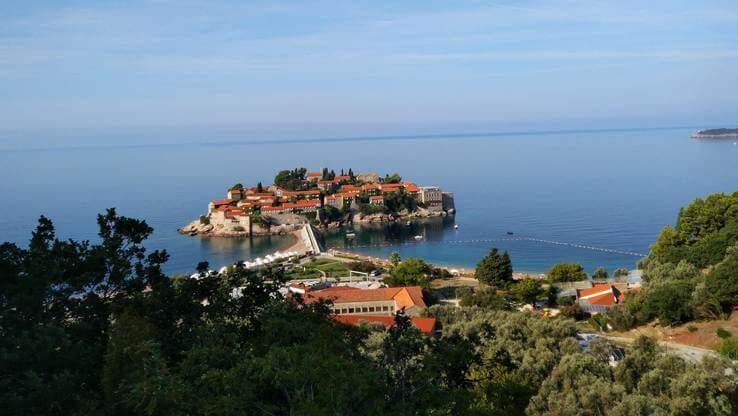 Islet of Saint Stephan.