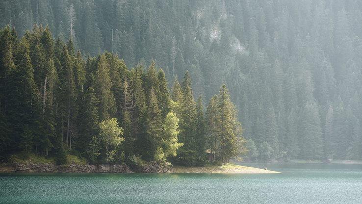 Montenegro lake on Zabljak