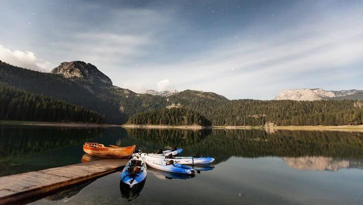 Lake on mountain Durmitor