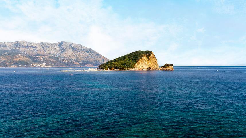 Saint Nicholas Montenegro island