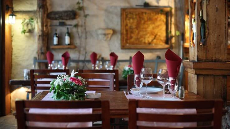 Resturant in Porto Montenegro